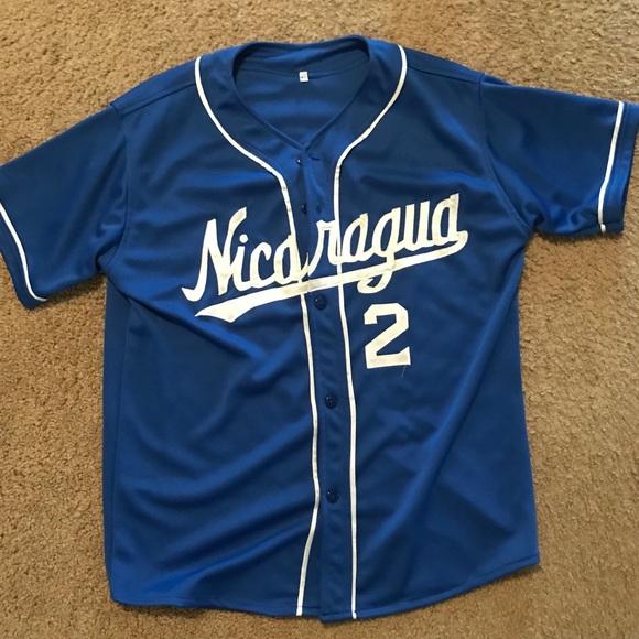 best loved d1d3e 5ef41 Nicaragua baseball jersey